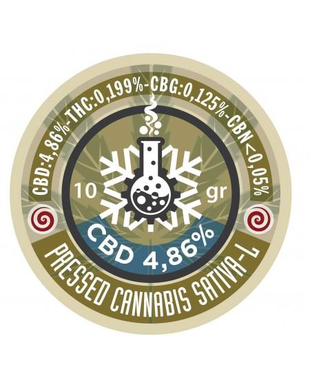 CBD HASH 4,86% 10 gr